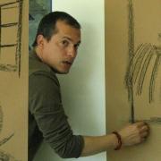 """Artista Roberto Jiménez, Exposición """"Donde Habita un Sueño"""""""