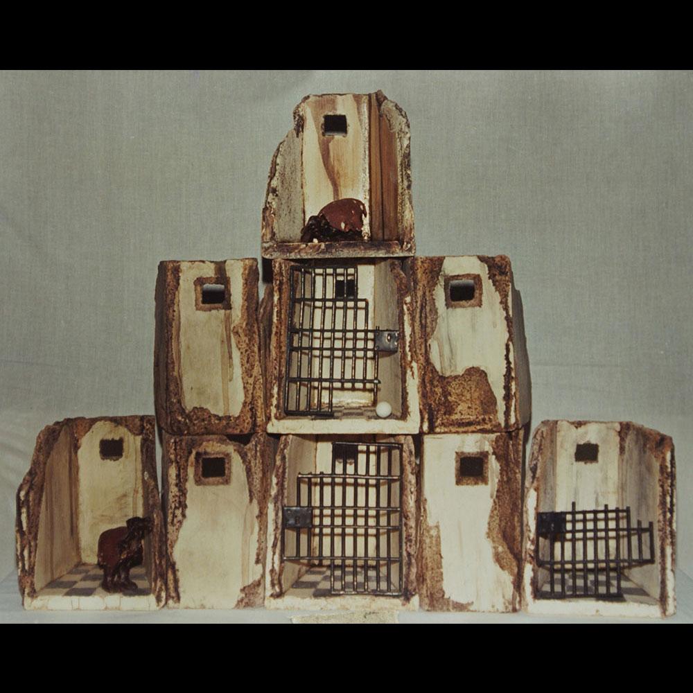 """Cerámica, Claustro """"Anunciación 7"""" de la Expo Eterno Espacio del Artista Plástico Roberto Jiménez Hidalgo"""