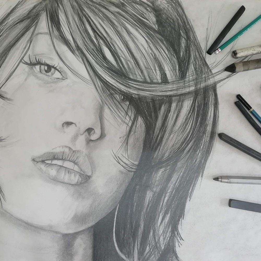 Curso Dibujo a lápiz 2