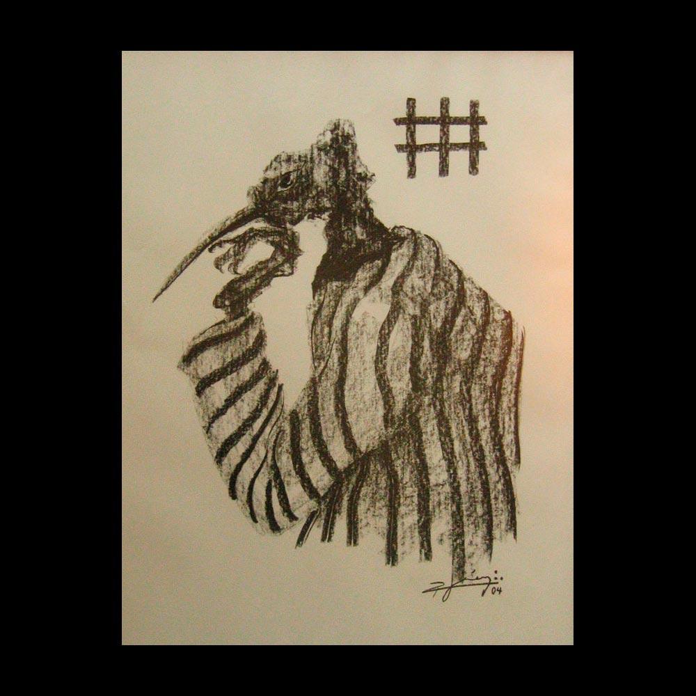 Dibujo Carboncillo 2 Liberfreeden Obra del Artista Roberto Jiménez