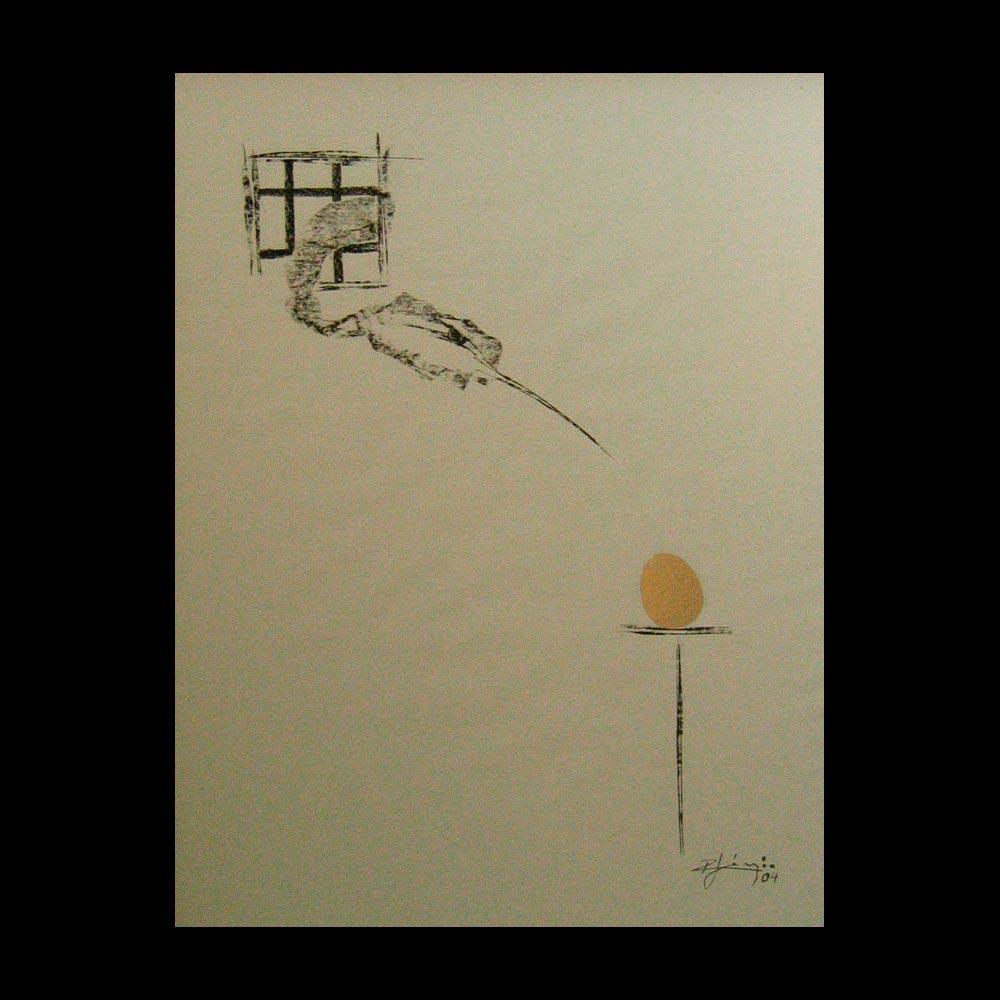 Dibujo Carboncillo 26 Liberfreeden Obra del Artista Roberto Jiménez