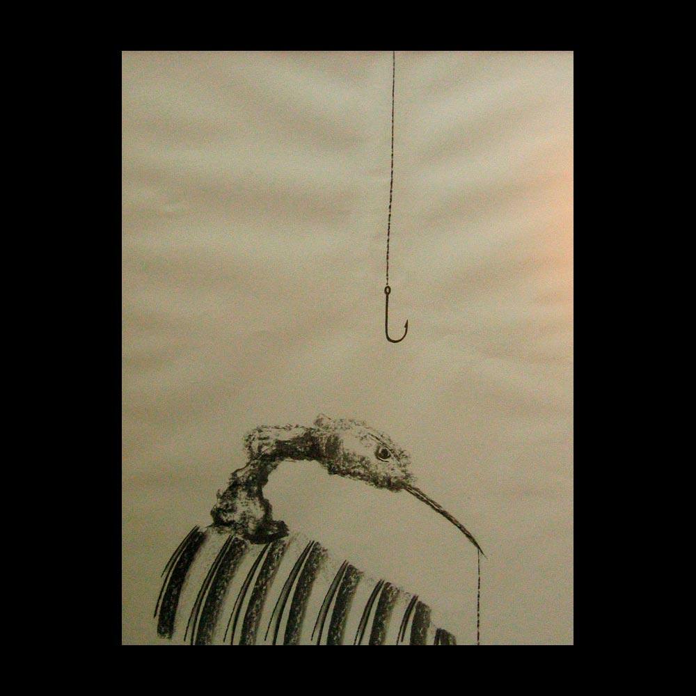 Dibujo Carboncillo 29 Liberfreeden Obra del Artista Roberto Jiménez