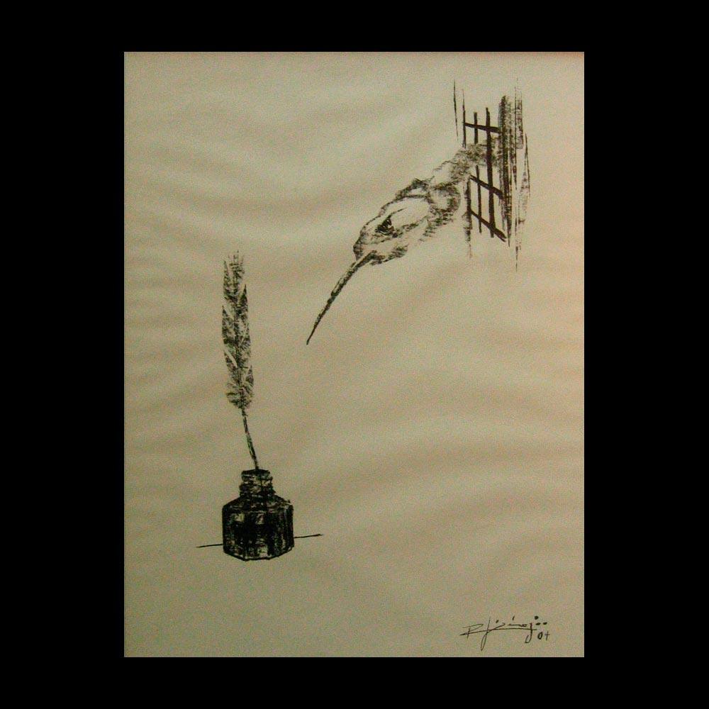 Dibujo Carboncillo 4 Liberfreeden Obra del Artista Roberto Jiménez