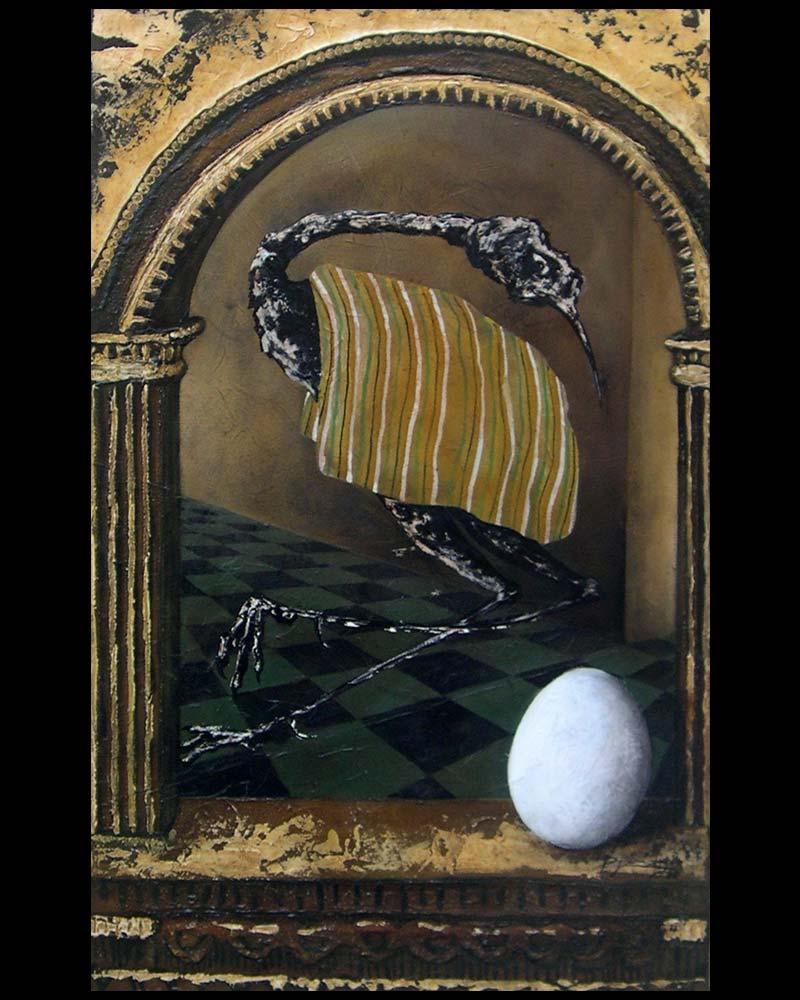 Artista Plástico Roberto Jiménez Hidalgo Obra Fragmento de Retablo