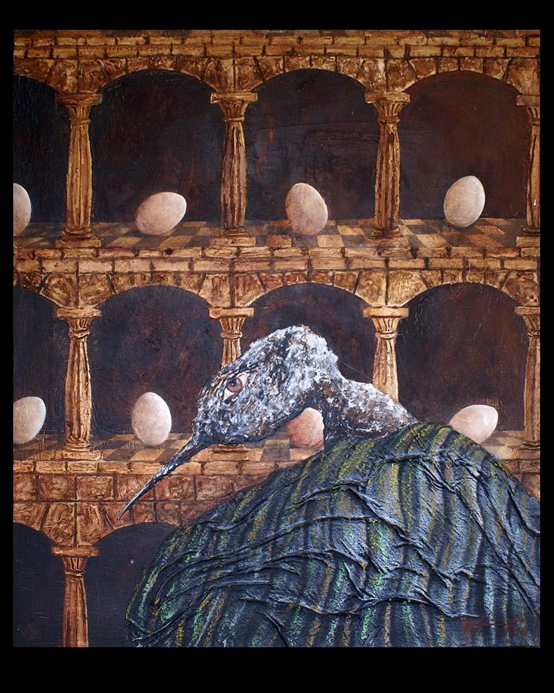 Obra Retablo del Artista Plástico Roberto Jiménez Hidalgo
