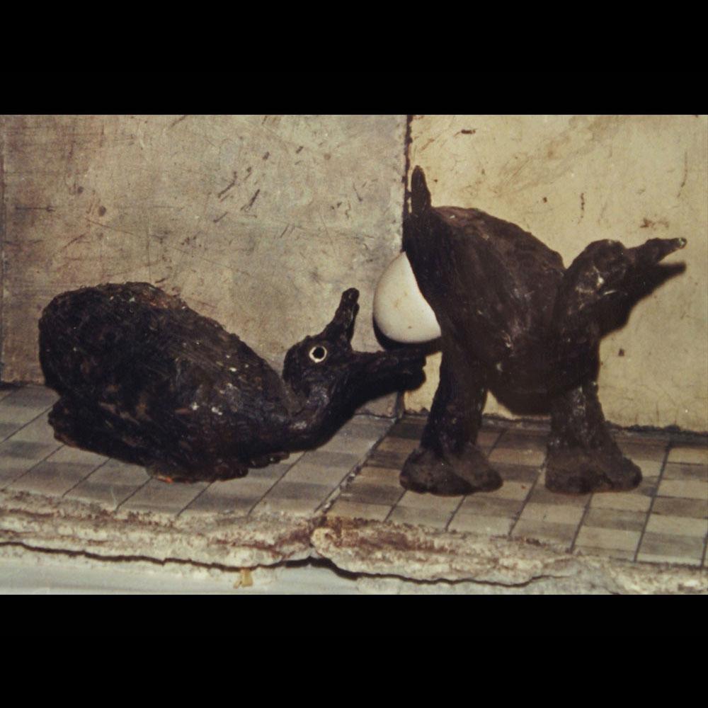 """Cerámica, Claustro fragmento de """"Anunciación 2"""" de la Expo Alto Contraste del Artista Plástico Roberto Jiménez Hidalgo"""