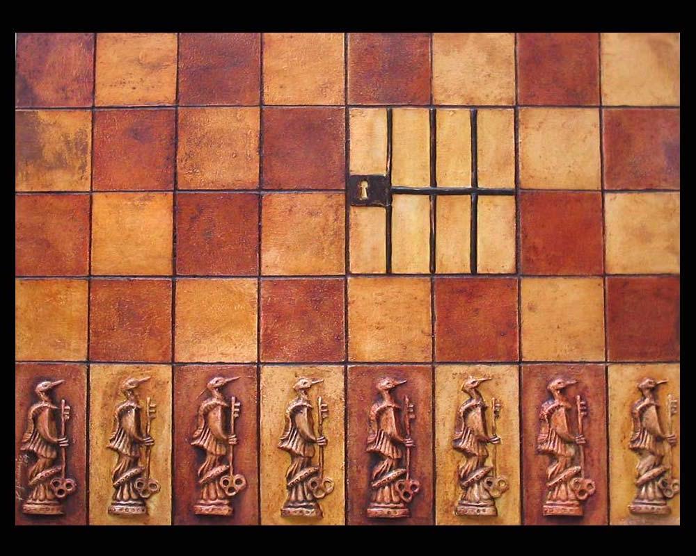 Artista Plástico Roberto Jiménez Hidalgo Obra La Huella 5