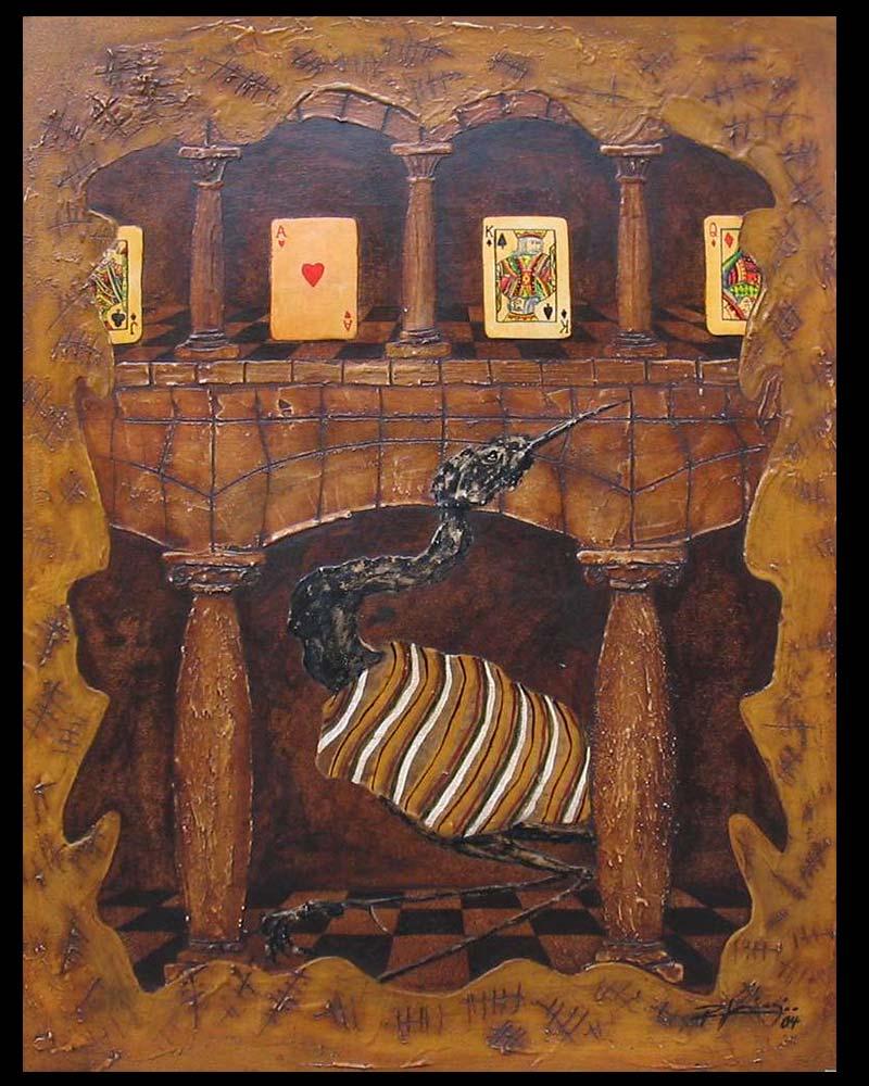 Artista Plástico Roberto Jiménez Hidalgo Obra Retablo de la Impaciencia 3