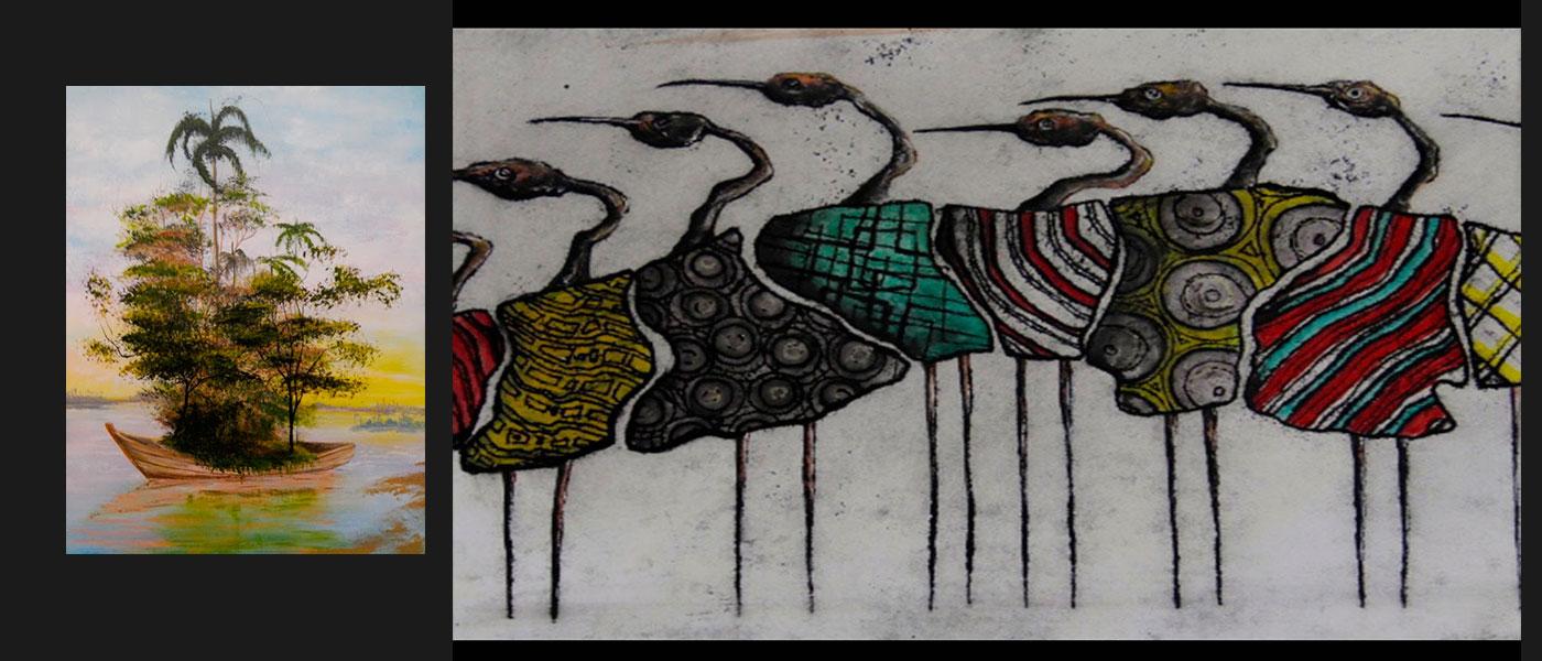 Cupo Limitado y Liberfreeden en Pasarela, Obras del Artista Roberto Jiménez