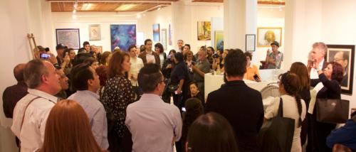 Galería Rullán inauguración de la XXXV Muestra Colectiva de Artes Plásticas y Visuales