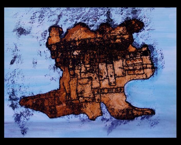 Monotipia Matancera, Obra del Artista Roberto Jiménez Hidalgo