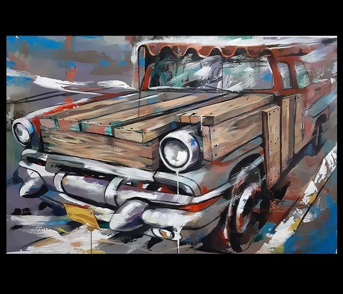 Obra Sin Título del Artista Jabriel Lafrance Johnson