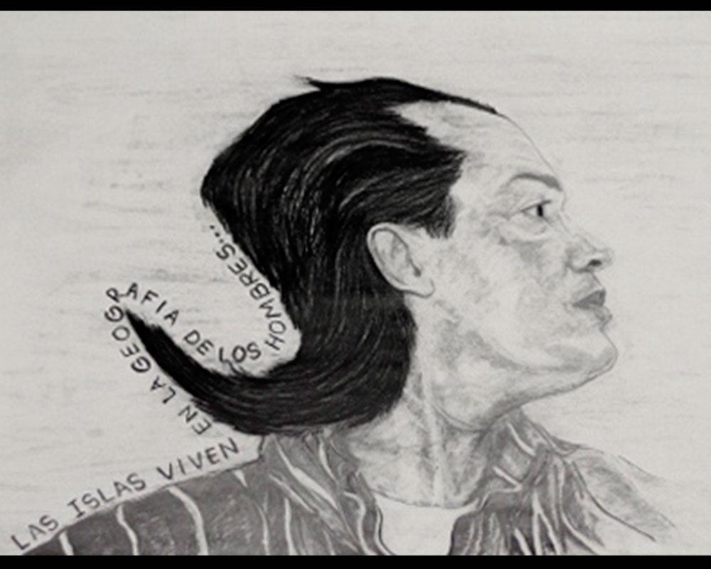 Obra, Autorretrato del Artista Roberto Jiménez Hidalgo