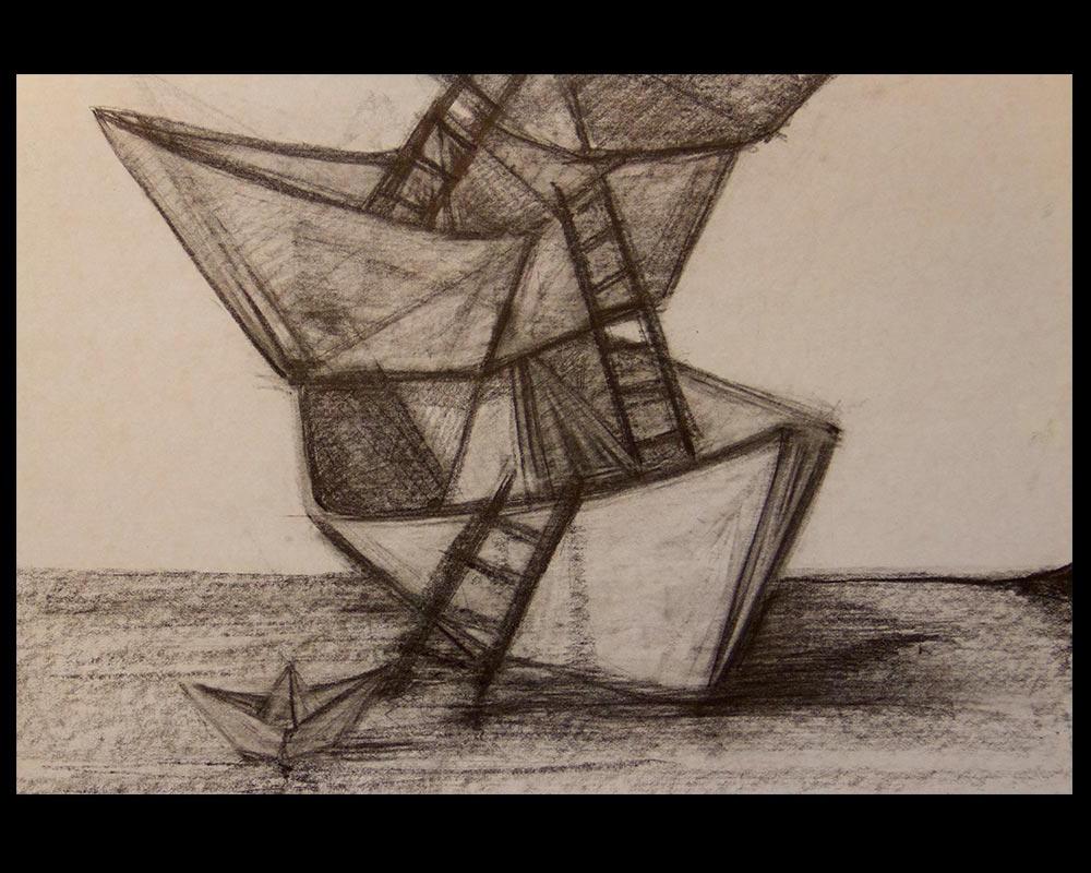 Obra, Pasajero Final del Artista Roberto Jiménez Hidalgo