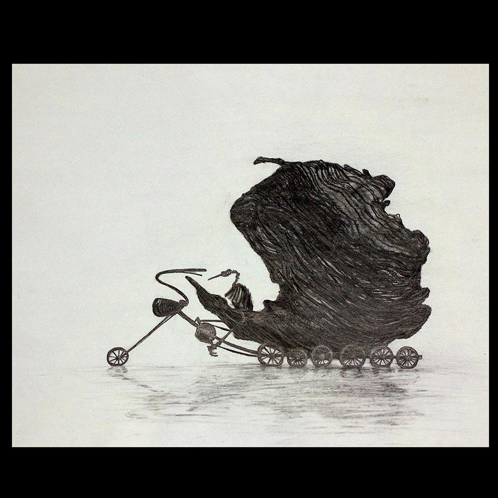 Isla con Alas 4 del Artista Roberto Jiménez Hidalgo