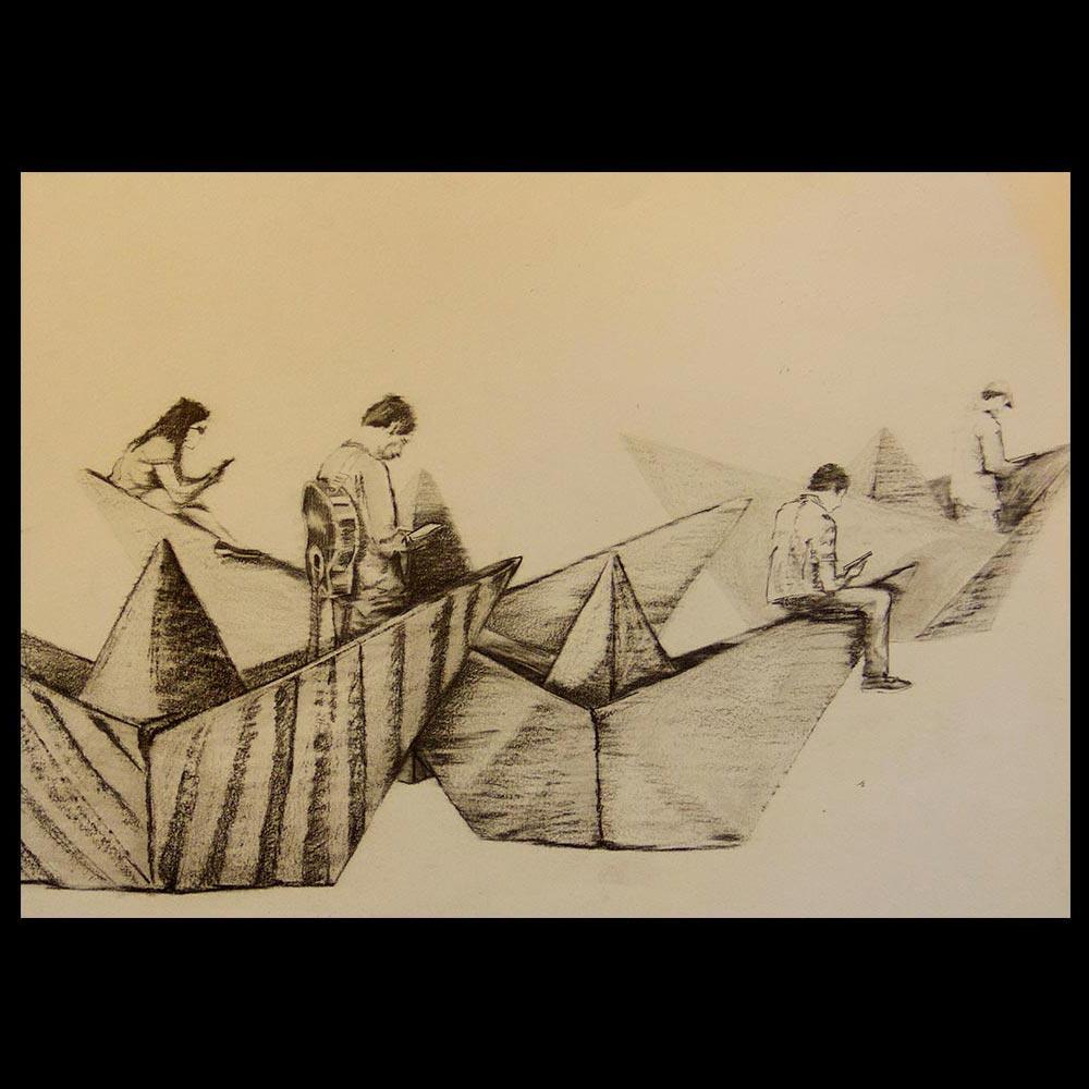 Navegantes en Red del Artista Roberto Jiménez Hidalgo